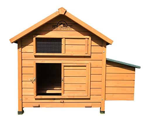 Pets Imperial® grande Savoy/Marlborough pollaio adatto per Up 6 Birds con singolo Nest box - Easy Clean vassoio pendente