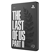 Seagate Game Drive per PS4 – The Last of Us II Special Edition, 2 TB, disco rigido esterno portatile (6,3 cm (2,5 pollici) USB 3.0, PS4), modello : STGD2000202
