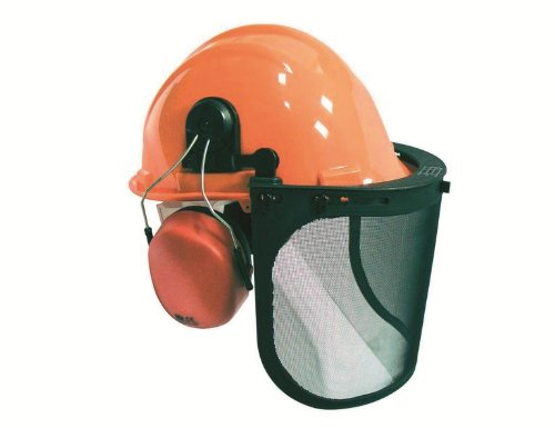 Ironside 341034 Helm-Kombination-Set Helm, Visier, Ohrschutz