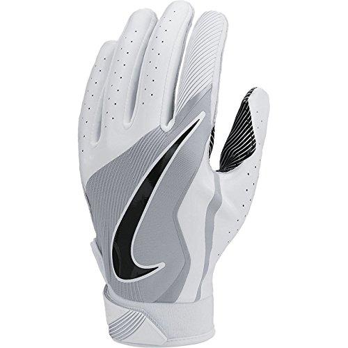 Nike Youth Boy's Vapor Jet 4 Football Gloves White/Wolf Grey/Black