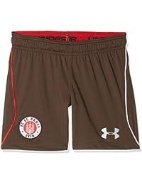 Under Armour FC St. Pauli Home Pantalones Cortos, Infantil, Timber (241), M