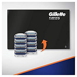 Gillette Fusion5 ProGlide Razor Blades For Men, 8 Refills, Mailbox Sized Pack