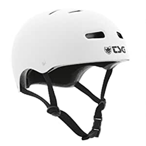 TSG Helm Skate BMX Solid Colors, Flat-White, S/M, 75040