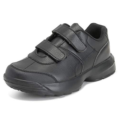 Get Fit Niños Unisex Colegio Casual Zapatos Llanura Muchachos Chicas Zapatos Entrenadores - All Negro...