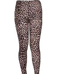 Karma Damen Leoparden Tier gedruckte Leggings