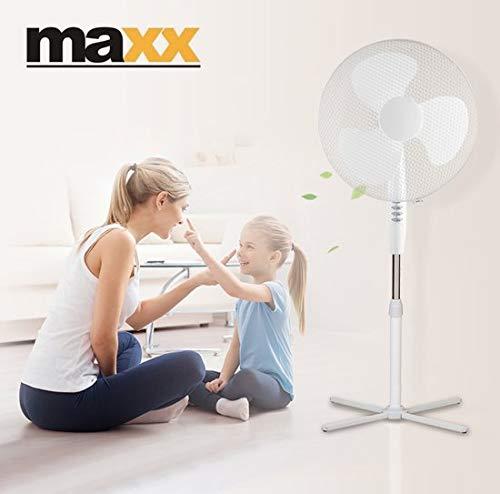 Maxx Ventilateur oscillant sur pied - 3 vitesses - 45 Watt