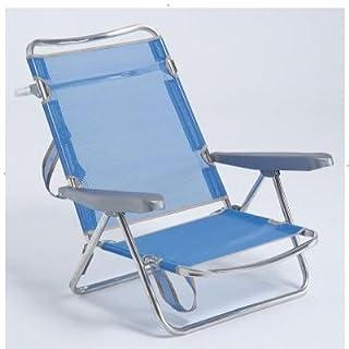 Alco m283231–Sessel Relax 40x 20mm Stahl grün gestreift 777vor-0036