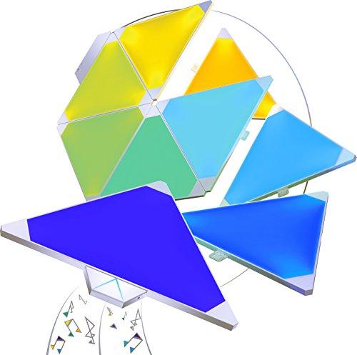 nanoleaf Light Panels (Aurora) Rhythm Musik & Sound Nachrüstmodul [Plug and Play | Faszinierende Effekte | Mikrofon & 3,5mm Klinkenanschluss] - 8