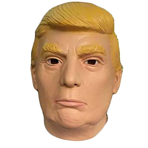 Halloween Party Mardi Gras Masken Latex Jaffaite Kunststoff Lustige Scary Haunted Haus Best Gesichtsmaske Kopfbedeckung Dekorationen Moive Film Berühmte Person Masquerade Masken Donald Trump