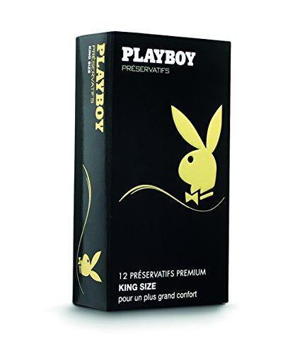 Playboy King Size Preservativos Lubricantes - 12 Preservativos