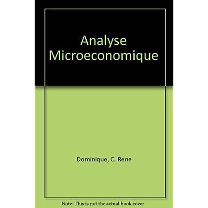 Analyse microéconomique