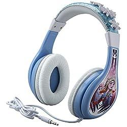 Reine des neiges 2 écouteurs pour Enfants avec Fonction de limitation de Volume intégrée pour Une écoute en Toute sécurité