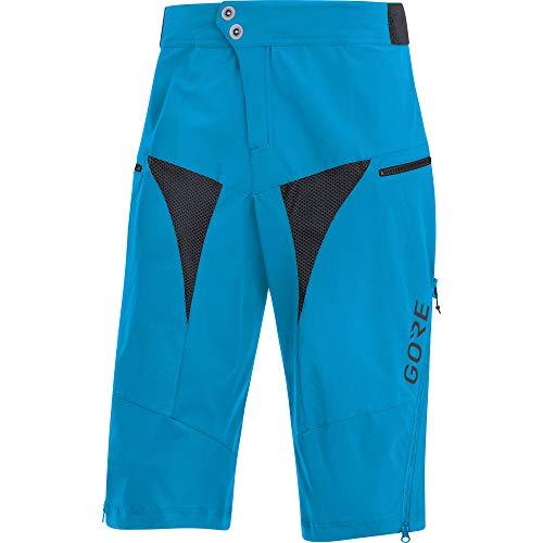 GORE WEAR C5 Pantalón corto de ciclismo para hombre, XL, azul