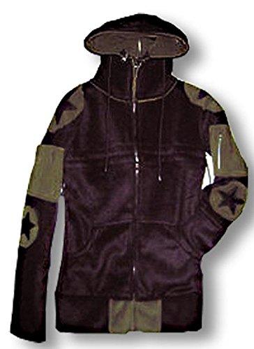 Convertible Hooded Fleece Jacket Donna
