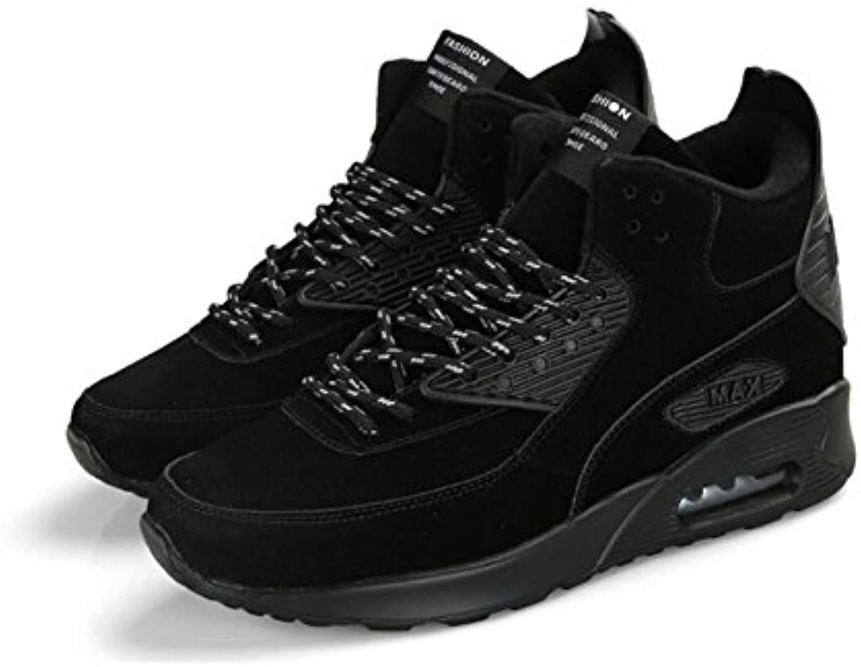XUE Herrenschuhe MeshFrühjahr Herbst HighTop Sneakers Leichte Atmungsaktive Comfort Sportschuhe Outdoor Light