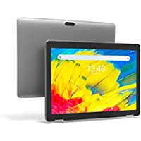 Tablet 10 Pulgadas Android 9.0 PC - Winnovo T10 Tablets Quad Core MT8163 3GB RAM 32GB ROM HD IPS 1280x800 2.0MP+5.0MP Cámara WiFi Bluetooth HDMI GPS FM (Gris)