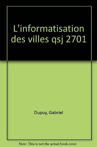 L'informatisation des villes