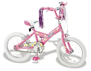 "XCool Pink Bee 16"" Girls Bike"