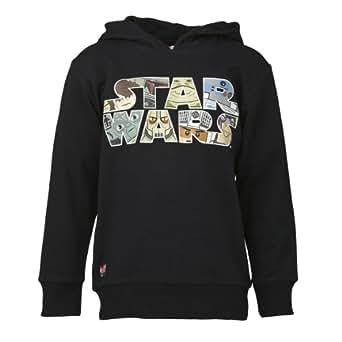 Lego wear - star wars - t-shirt - garçon - noir (dark charcoal black) - 6 ans