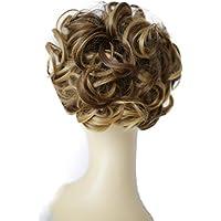 PRETTYSHOP Moño, Postizo, Trenza, Moño de estilo Hepburn, Coletero, Peinado alto
