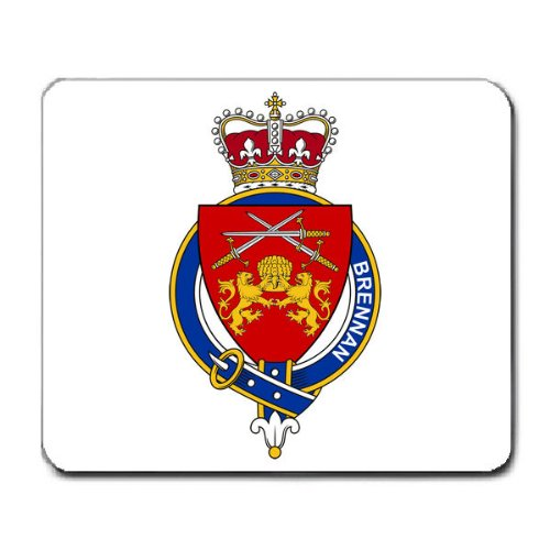 brennan-irlanda-family-stemma-coat-of-arms-mouse-pad