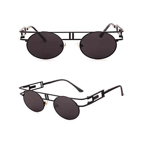 Sportbrillen, Angeln Golfbrille,NEW Metal Frame Steampunk Sunglasses Women Brand Designer Unique Men Gothic Sun Glasses Vintage Oculos De Sol Feminino 8 Color C9