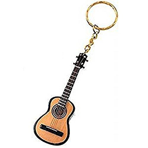 2503-25353-Llavero «Guitarra española» madera 7,5
