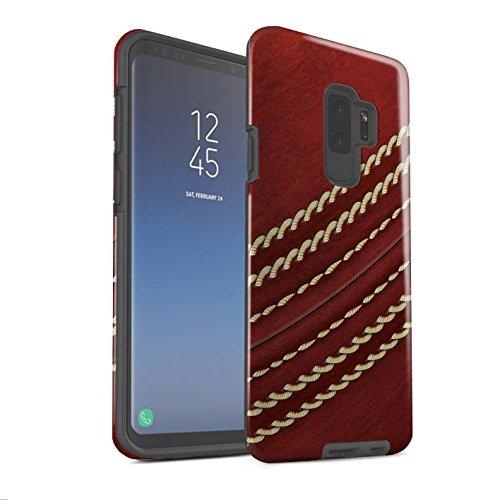 Stuff4® Glanz Harten Stoßfest Hülle/Case für Samsung Galaxy S9 Plus/G965/Kricket Muster/Sport Bälle/Ball Kollektion