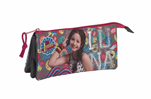 Estuche portatodo triple de Soy Luna ' Athletic'