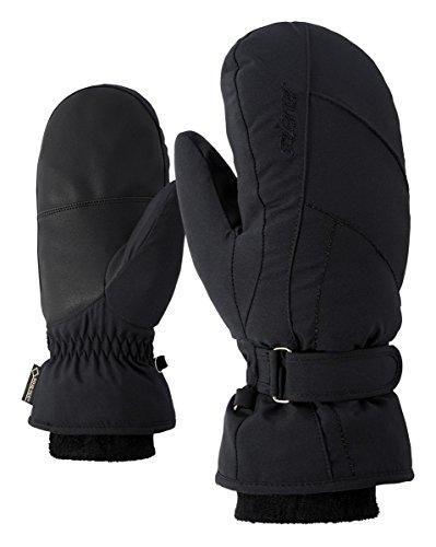 Ziener Damen KARMANI GTX(R) +Gore warm Mitten Lady Glove Handschuh, Black, 7