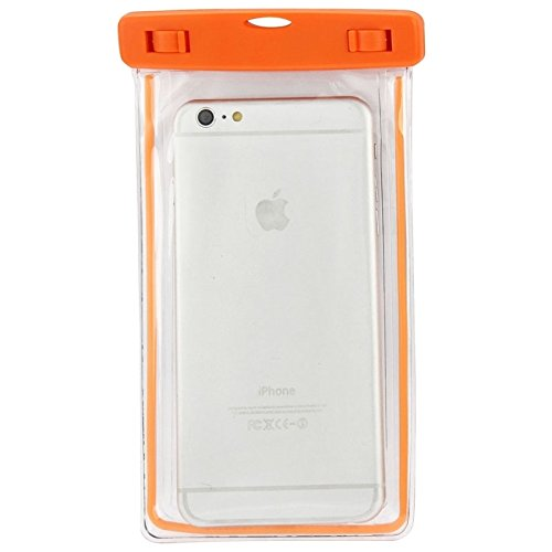 wkae Schutzhülle Fall & Cover hjiemei Wasserdichte Tasche Schutzhülle mit Lanyard für iPhone 6Plus & 6splus & iPhone 6& 5& 5s & 5C orange