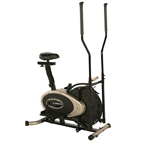 Exerpeutic GOLD XL9 Duales Trainingsgerät. Ellipsentrainer und Heimtrainer in EINEM
