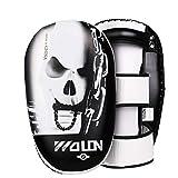 Kamiwwso Mitt Boxing Mitt Boxing Mitt Boxe/Boxe/Muay Thai Taekwondoo Karate Sanda MMA (Color : White)