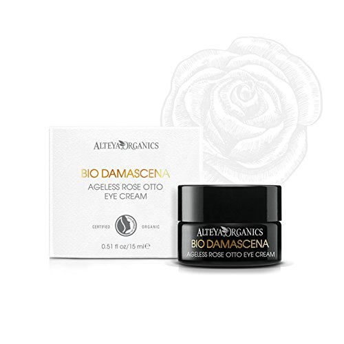 Alteya Bio Ageless Augencreme Rose 15ml – NaTrue Organic-zertifiziert Rein Natürlich...
