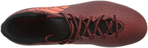 adidas X 17.3 AG, Chaussures de Football Homme Multicolore (Core Black/solar Red/solar Orange)