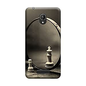 Digi Fashion Designer Back Cover with direct 3D sublimation printing for Micromax Canvas Spark