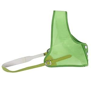 Protection du Thorax Plastron en Maille de Nylon pour Tir à l'arc Vert