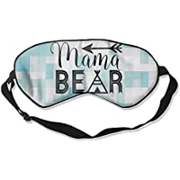 Preisvergleich für Mama Bear 99% Eyeshade Blinders Sleeping Eye Patch Eye Mask Blindfold For Travel Insomnia Meditation