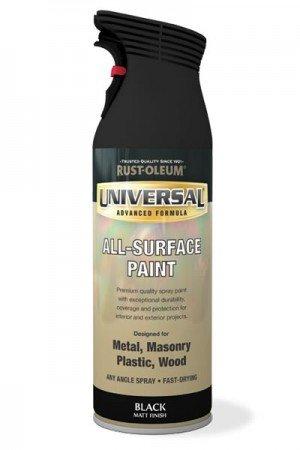 rust-oleum-universale-all-surface-vernice-spray-400-ml-ogni-angolo-nero-opaco-black-1-confezione