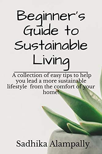 Beginner's Guide to Sustainable Living : A collection of easy tips to help you lead a more sustainable lifestyle from the comfort of your home!