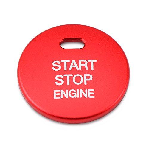 CX-7 3 botones 3 color negro con pespuntes en rojo 6 Muchkey Funda de piel para llave de coche para 2 CX-5