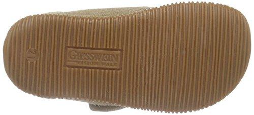 Giesswein Strass - Slim Fit, Chaussons hauts, non doublés fille Marron - Braun (camel-238)