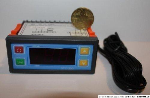 12 Volt Temperaturregler 0 - 100 Grad inkl. Sensor
