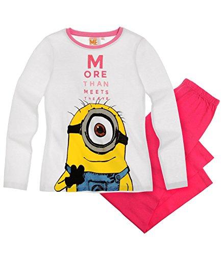Minions Despicable Me Mädchen Pyjama - pink - 116