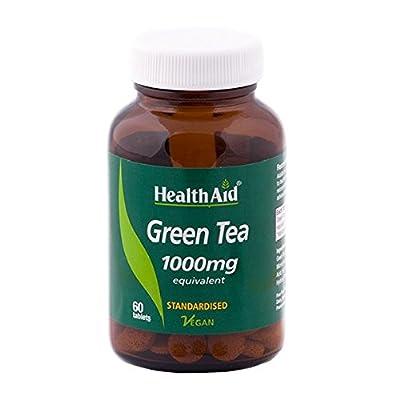 HealthAid Green Tea Extract 1000mg - 60 Tablets from HealthAid