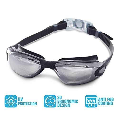 Lunettes de natation avec tui de protection gratuit for Verre miroir lunette
