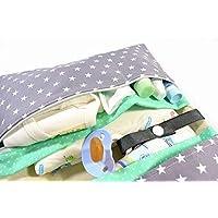 XXL Windeltasche Wickeltasche, mit vielen Fächern und Reißverschluss. Versandfertige Windeltasche Wickeltasche, gerne auch in anderen Farben. Bitte anfragen.