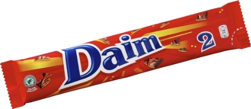 Preisvergleich Produktbild Daim Schokoriegel 12er Pack (2 x 28 g) – knackiger Mandelkaramell umhüllt von feinster Milchschokolade – einzigartig leckere schwedische Süßigkeit