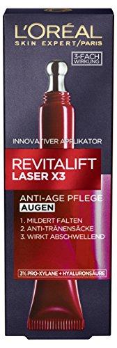 L\'Oréal Paris RevitaLift Laser X3 Augenpflege, 1er Pack (1 x 15 ml)