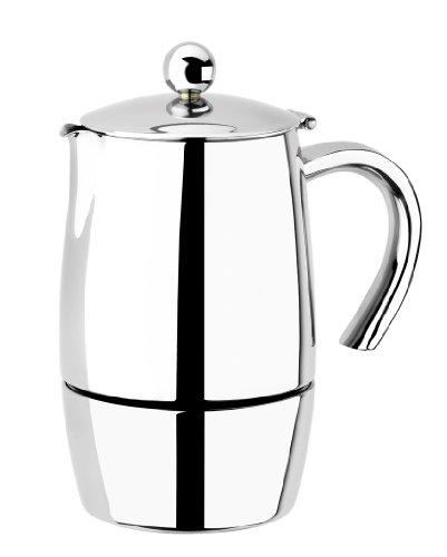 BRA Magna - Cafetera, capacidad 10 tazas, acero inoxidable 18/10